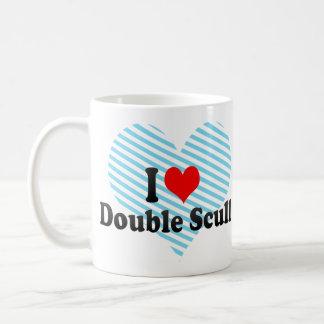 I love Double Scull Coffee Mug