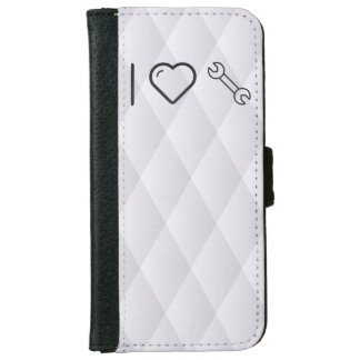 I Love Double Wrenches iPhone 6 Wallet Case