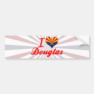 I Love Douglas, Arizona Car Bumper Sticker
