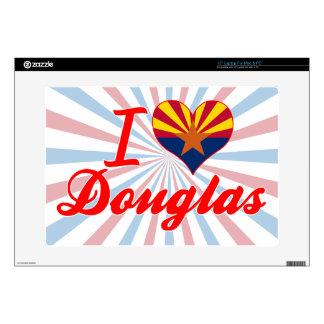 "I Love Douglas, Arizona Skins For 15"" Laptops"