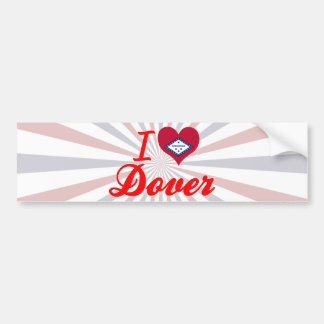 I Love Dover, Arkansas Bumper Sticker