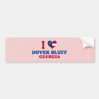 I Love Dover Bluff, Georgia Bumper Sticker