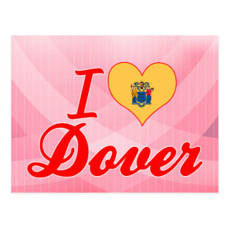 I Love Dover New Jersey Postcards