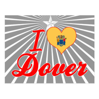 I Love Dover, New Jersey Postcard