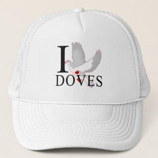 I Love Doves Caps