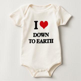 I love Down To Earth Baby Creeper