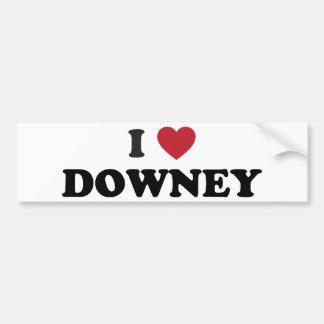 I Love Downey California Bumper Sticker