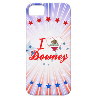 I Love Downey, California iPhone 5 Cover
