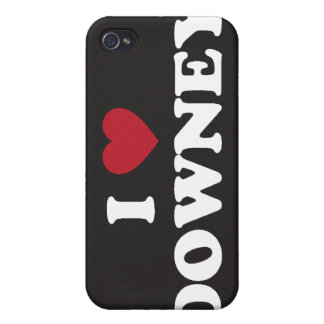I Love Downey California iPhone 4 Cover