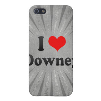 I Love Downey, United States Covers For iPhone 5