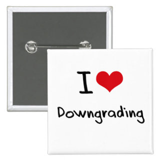 I Love Downgrading Pins