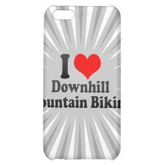 I love Downhill Mountain Biking Case For iPhone 5C