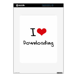 I Love Downloading Decals For iPad