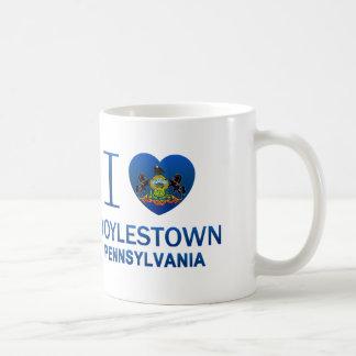 I Love Doylestown, PA Coffee Mug