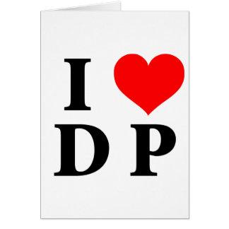 I Love DP Card