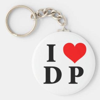 I Love DP Keychain