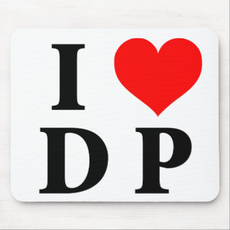 I Love DP Mouse Pad