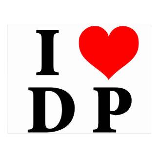 I Love DP Postcard