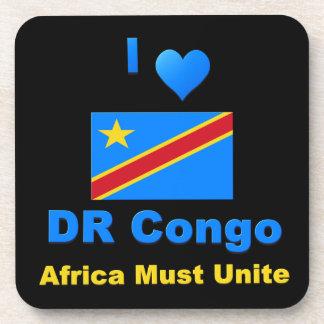 I Love DR Congo, Africa Must Unite Coaster