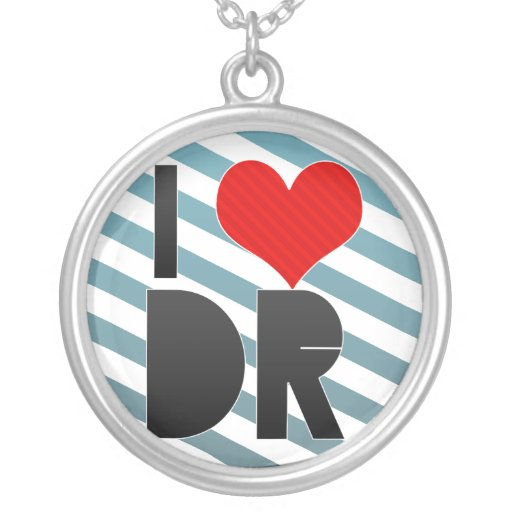 I Love DR Custom Necklace
