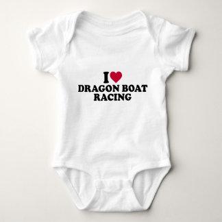 I love Dragon boat racing Baby Bodysuit