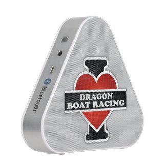 I Love Dragon Boat Racing Bluetooth Speaker