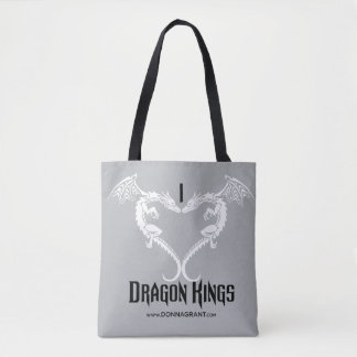 I Love Dragon Kings tote