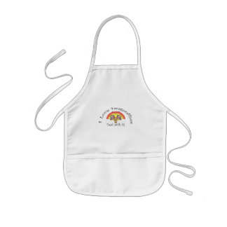 I love dragonflies deal with it kids' apron