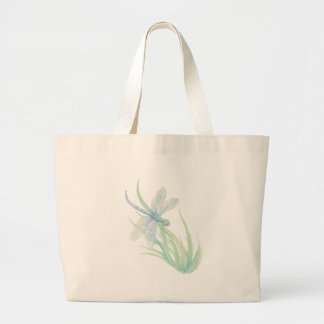 I love  Dragonflies in Blue and Green Large Tote Bag