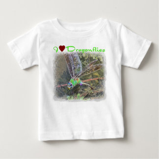 I Love Dragonflies Infants and Kids T-shirt