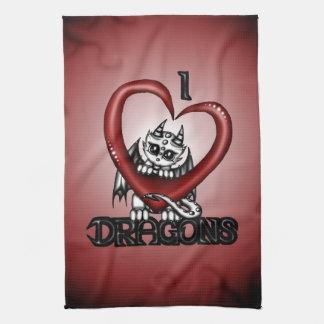 I love Dragons Kitchen Towels