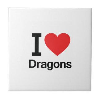 I Love Dragons Tiles