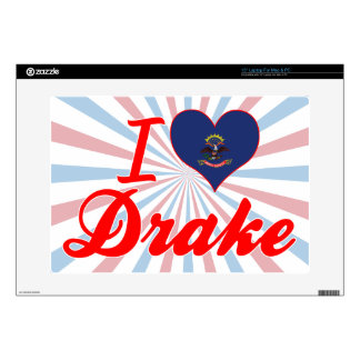 I Love Drake, North Dakota Skin For Laptop