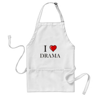 I love Drama Aprons