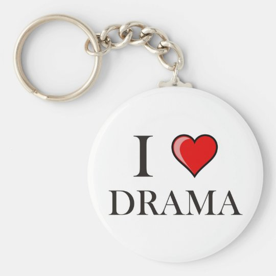 I love Drama Keychain