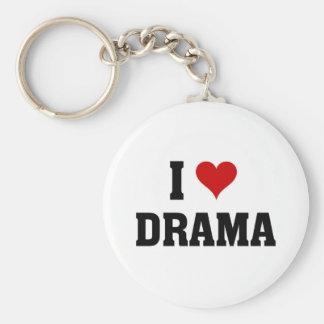 I love Drama Key Chain