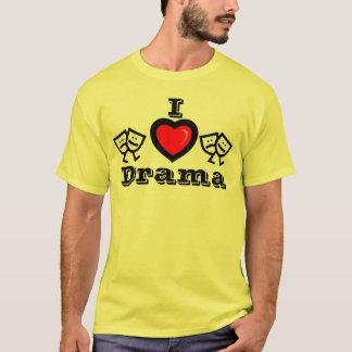 I Love Drama w/KBP on Back T-Shirt