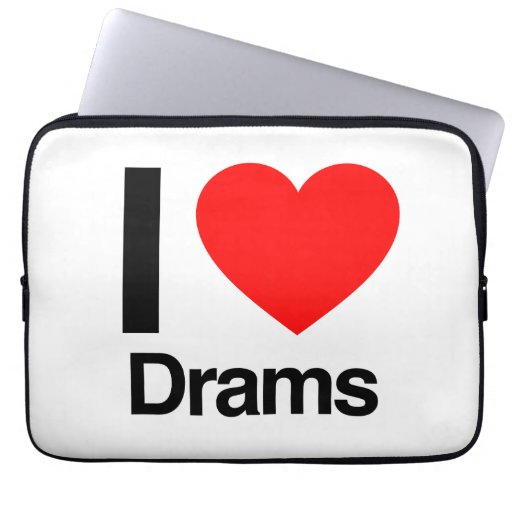 i love drams laptop computer sleeves