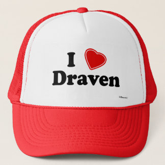 I Love Draven Trucker Hat