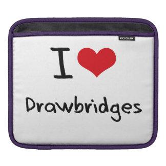 I Love Drawbridges Sleeve For iPads