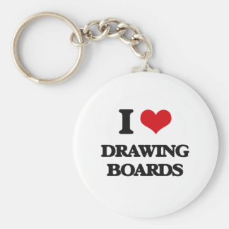 I love Drawing Boards Keychains