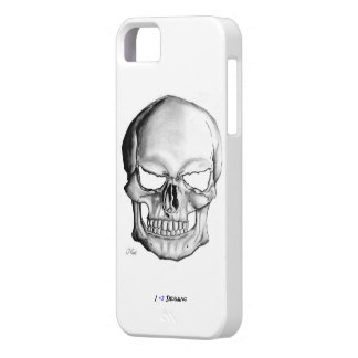 I Love Drawing case for iphone 5 (Skull)
