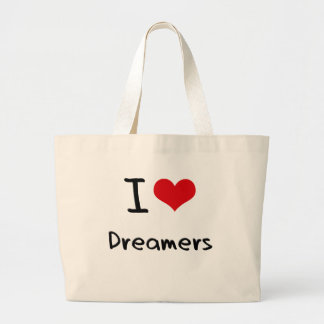 I Love Dreamers Tote Bag