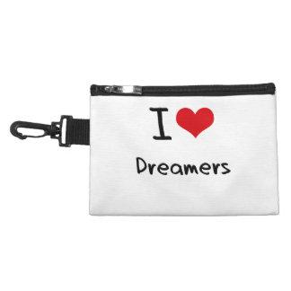 I Love Dreamers Accessories Bag