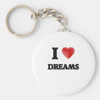 I love Dreams Keychain