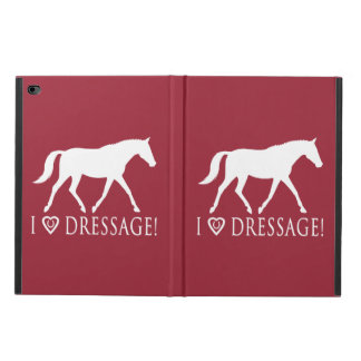 I Love Dressage with Horse in Silhouette Powis iPad Air 2 Case