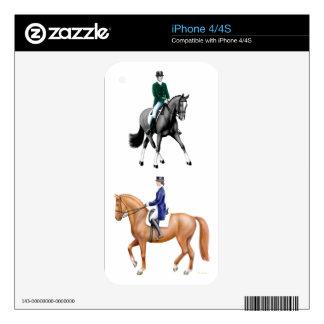 I Love Dressage Zazzle Skin iPhone 4S Skins