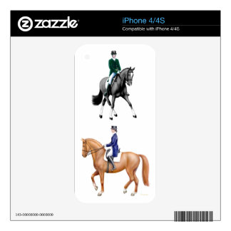 I Love Dressage Zazzle Skin Skin For iPhone 4S