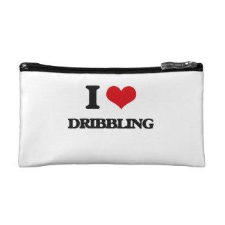 I love Dribbling Cosmetic Bag