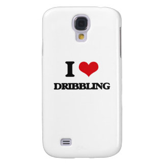 I love Dribbling Galaxy S4 Cover